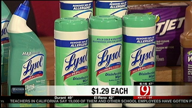 Save Money On Spring Cleaning