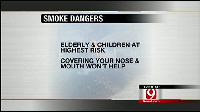Staying Safe As Smoke Hangs In Air Across Central, Eastern Oklahoma