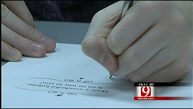 Oklahoma Woman Helping Veterans One Card At A Time
