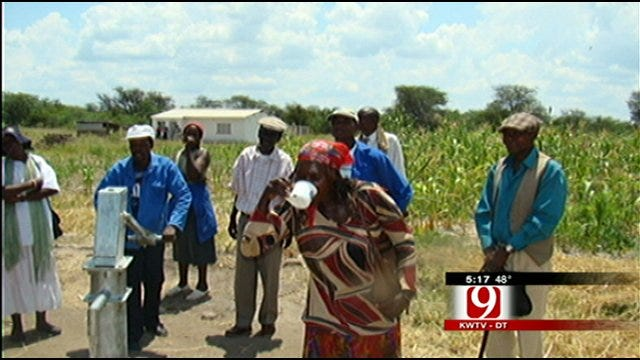 Oklahoma Father, Son Travel To Zimbabwe To Provide Clean Drinking Water
