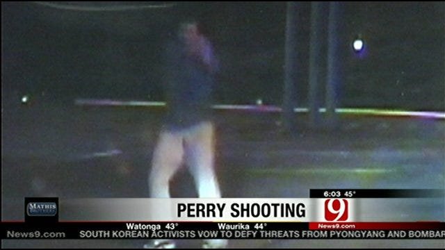 Perry Police Release Video Of Suspect Shot In Store Parking Lot