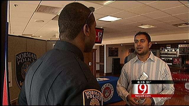 OU Career Fair Helping Students Athletes 'Off The Court'