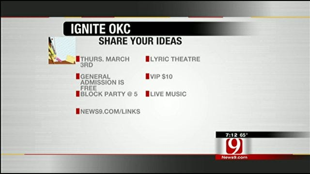 Share Your Ideas At Ignite OKC