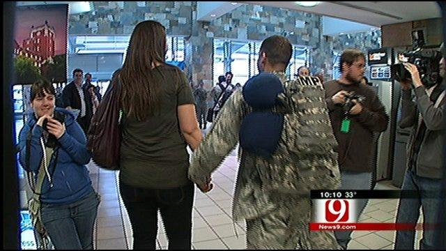 Oklahoma Troops Return From Afghanistan