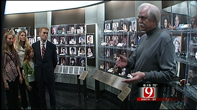 Museum Volunteers Shares Victim's Story, Gives Tours During 10 Year Celebration