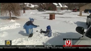 Schools Use Technology To Make Up For Snow Days