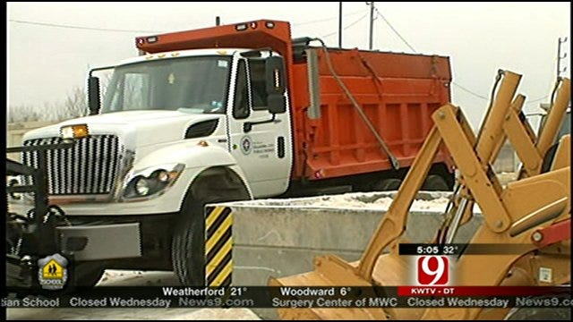 Winter Weather Means Long Hours, Stress For Crews, Families