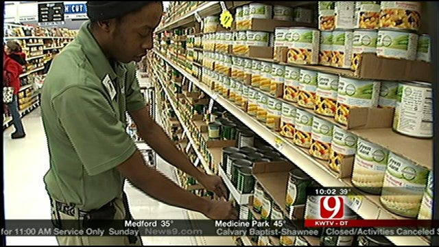 Snow, Football Leave Grocery Stores Scrambling To Restock