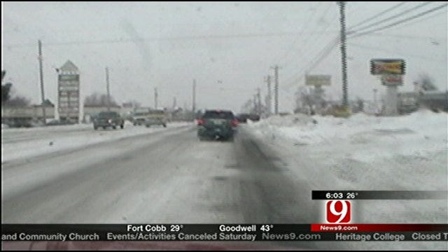 Street Crews Working Around The Clock To Clear Roads On Limited Equipment