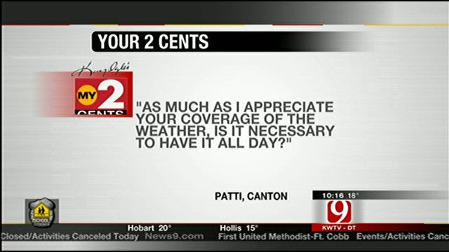 Your 2 Cents: Questions, Comments On News 9's Blizzard Coverage