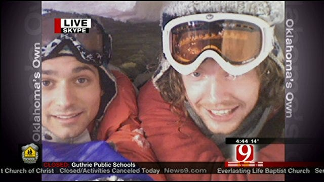 Two Guys Relive Childhood By Building, Spending Night In Igloo