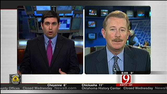 News 9's Michael Armstrong Checks In With NewsOn6's Travis Meyer