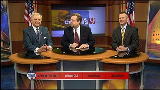 Your Vote Counts: State Of The Union, War On Oil, UCO President, Judge LeSure