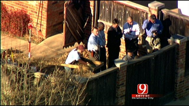 Police Search Norman Yard For Missing Woman's Remains