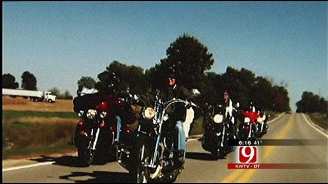 Bikers Riding From South America To Bethany On A Mission For Miles