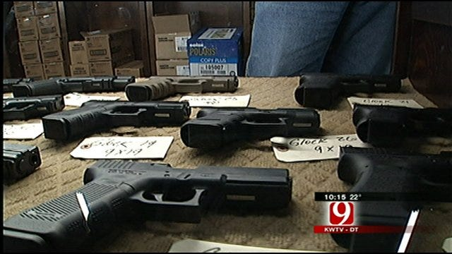 Legislation Would Allow Oklahomans To Openly Carry Guns