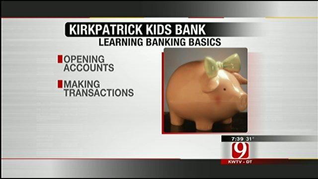 Kirkpatrick Bank Helping Kids Learn Banking Basics