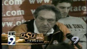2001: OSU's Eddie Sutton Speaks About Plane Crash Tragedy