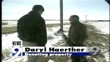 2001: Landowner Wants OSU Memorial On Land Where Plane Crashed