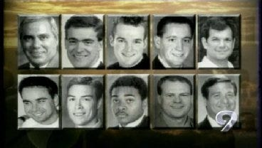 2001: OSU Holds Remembrance Ceremony For 10 Lives Lost In Plane Crash