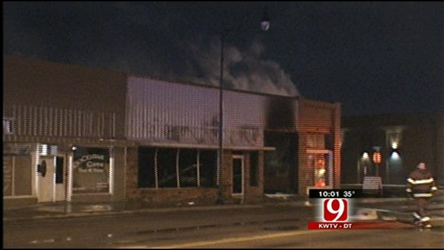 Large Fire Sparked In Sayre Mechanic Shop Burns Buildings, Antique Cars