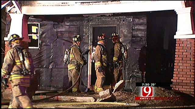 Fire Tears Through Northwest OKC Home