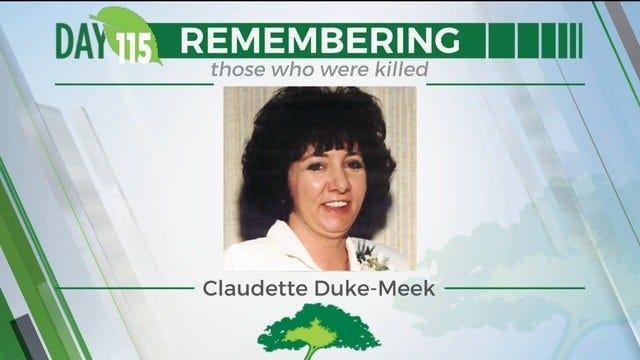 168 Day Campaign: Claudette Duke-Meek