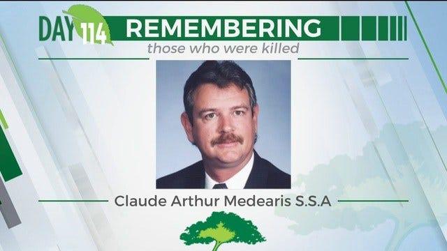 168 Day Campaign: Claude Arthur Medearis