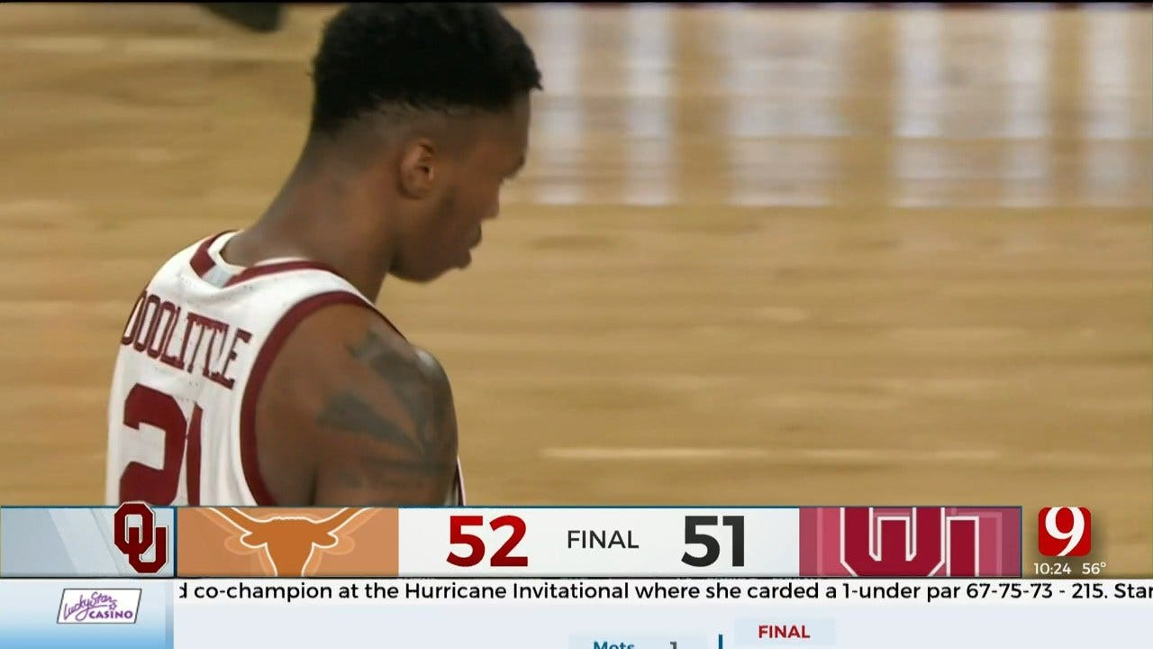 Coleman's 3 With 0.4 Seconds Left Lifts Texas Over Oklahoma