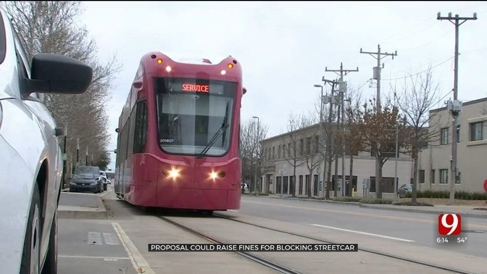 Oklahoma City Proposes Fine Increase For Blocking Streetcars