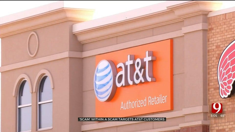 Scammers Target Local AT&T Store's Customers