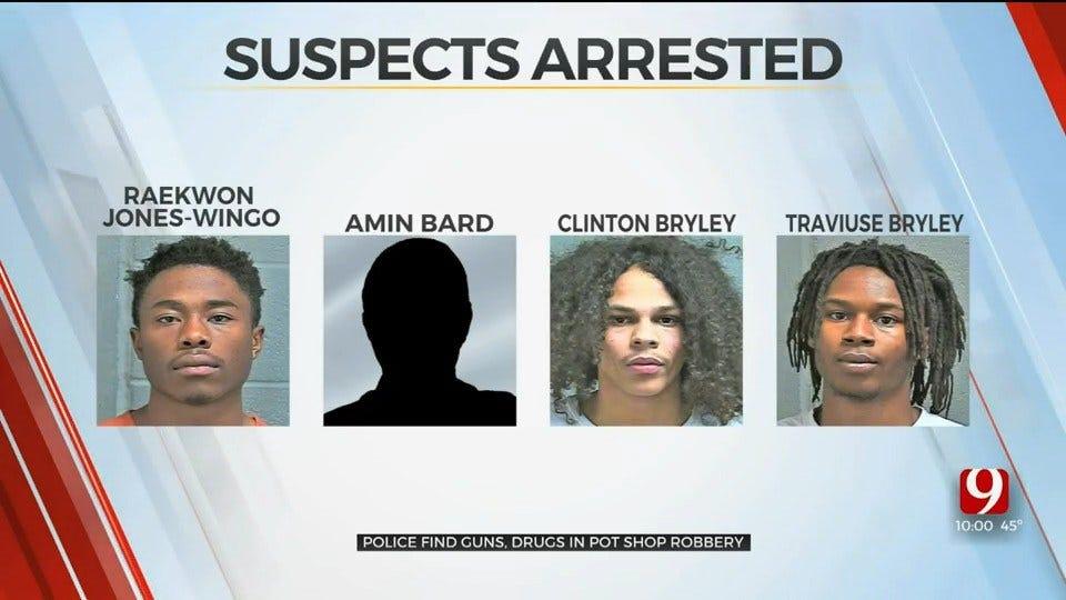 Bethany Police Find Guns, Drugs During Medical Marijuana Dispensary Break-In Investigation