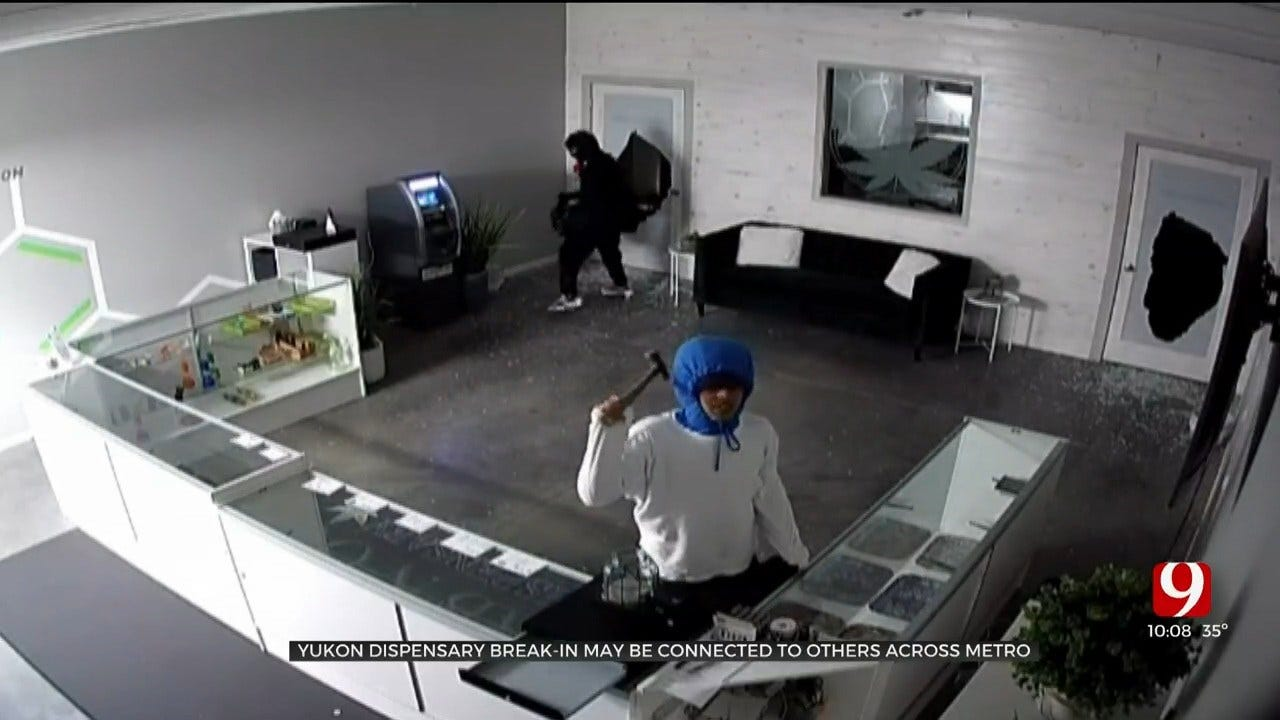 Yukon Dispensary Break-In May Be Connected To Others, Police Say