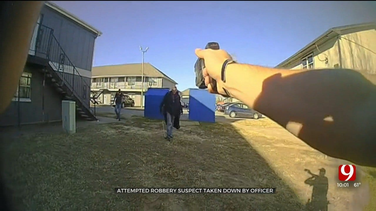 Body Cam Video Shows Arrest Of Man Who Threatened Police With A Gun