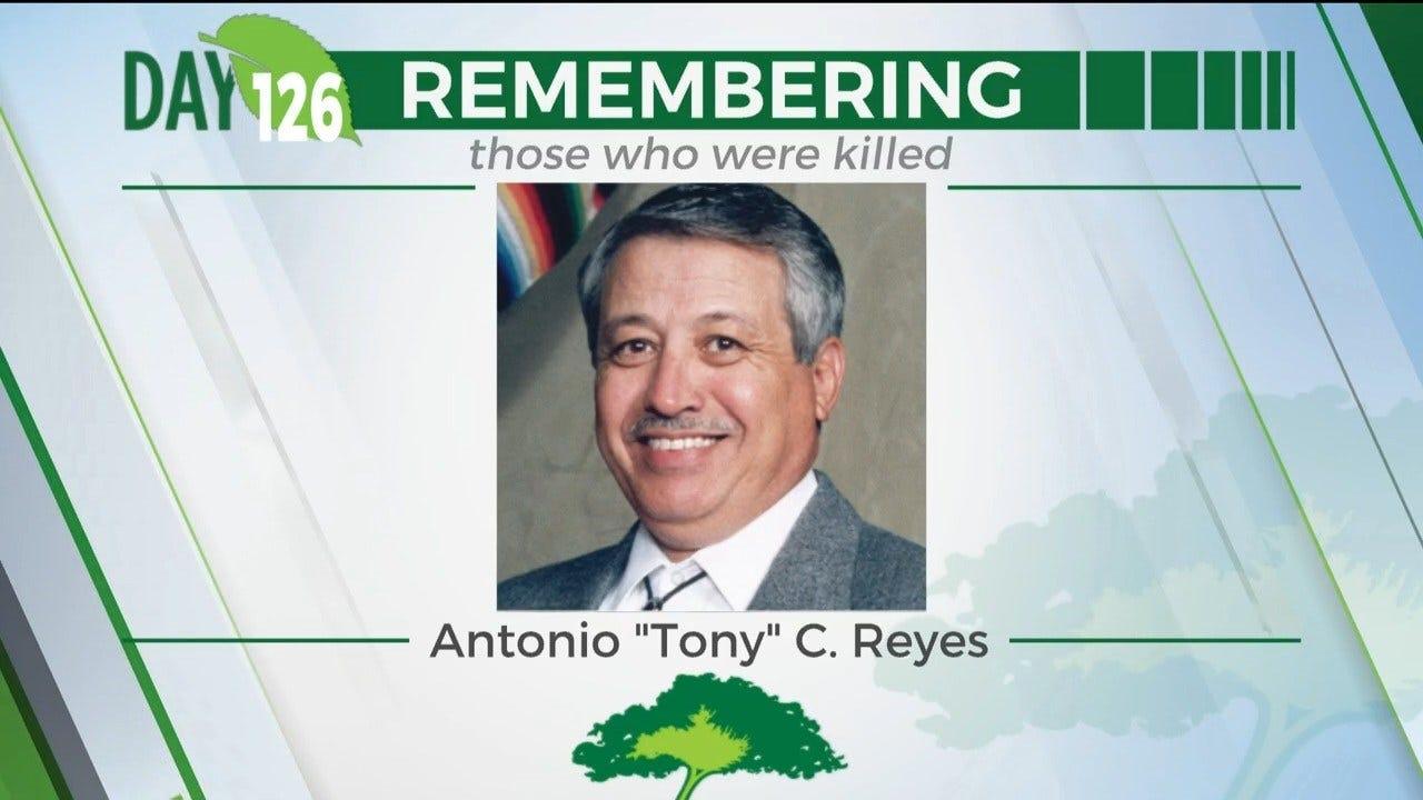 """168 Day Campaign: Antonio """"Tony"""" C. Reyes"""