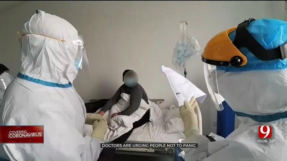 Doctors Urge People Not To Panic Amid Coronavirus Outbreak