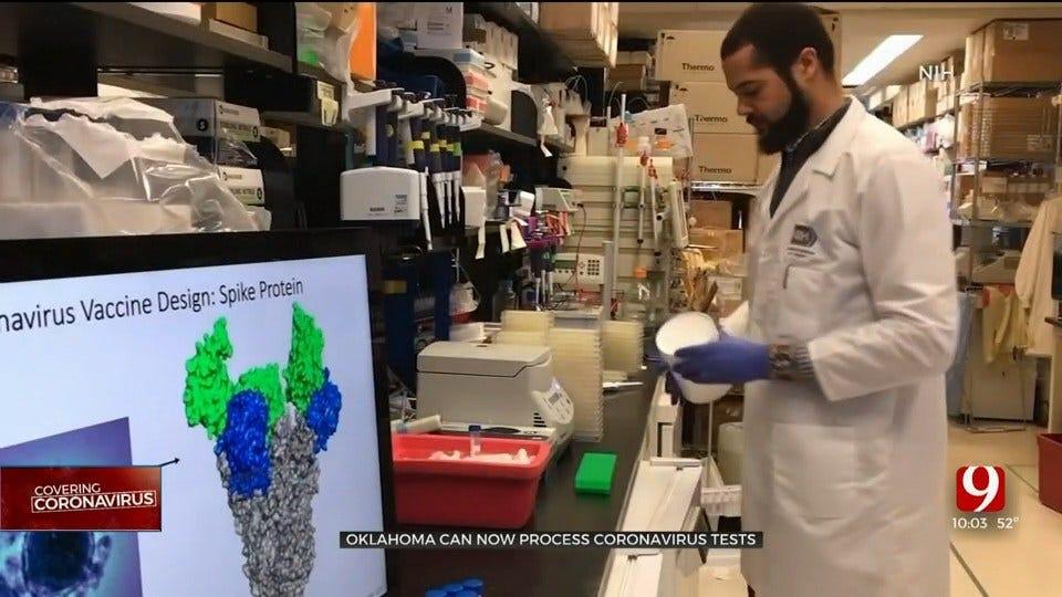 Oklahoma Can Now Process Coronavirus Tests
