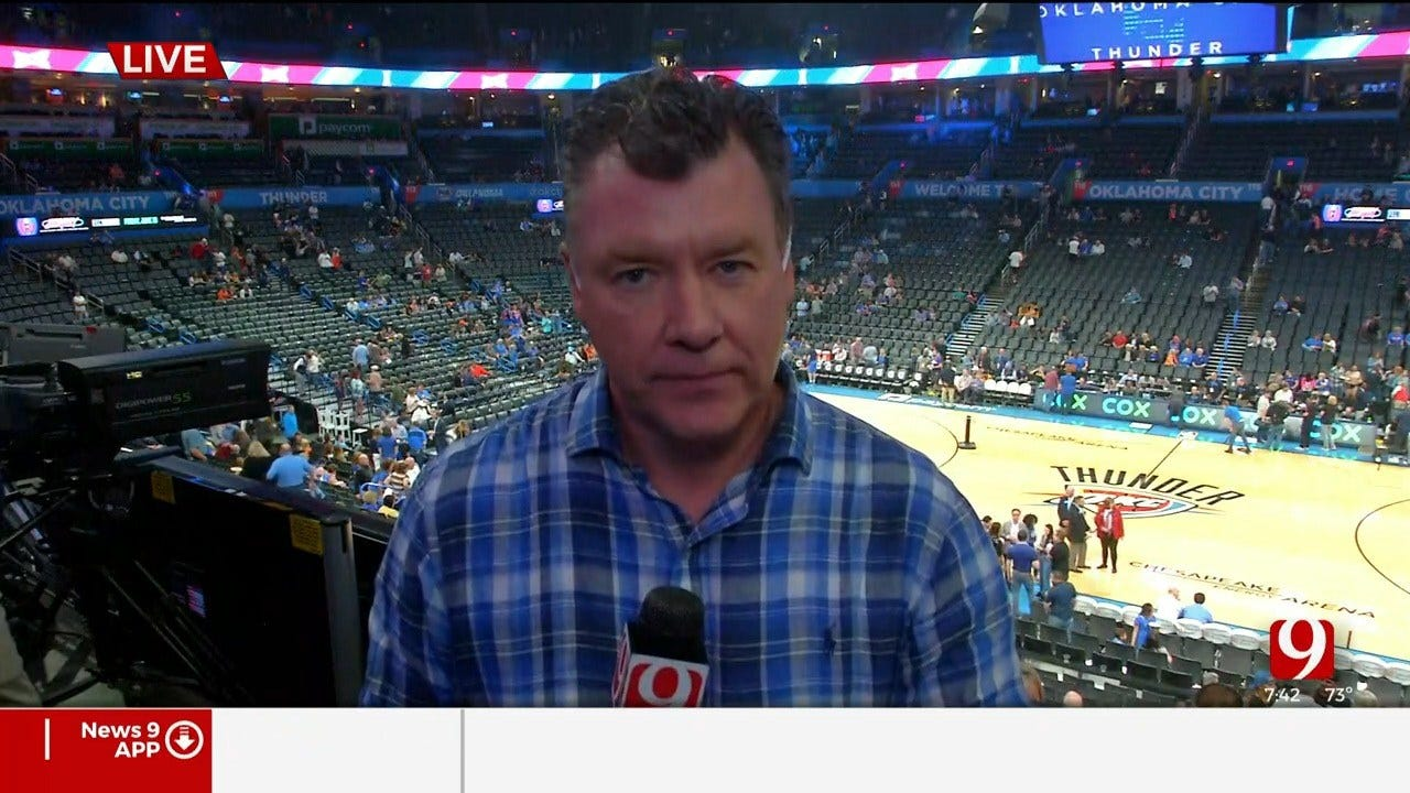 Coronavirus + NBA: Steve McGehee Reports From Chesapeake Arena
