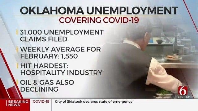 Coronavirus (COVID-19) Taking Toll On Oklahoma's Economy
