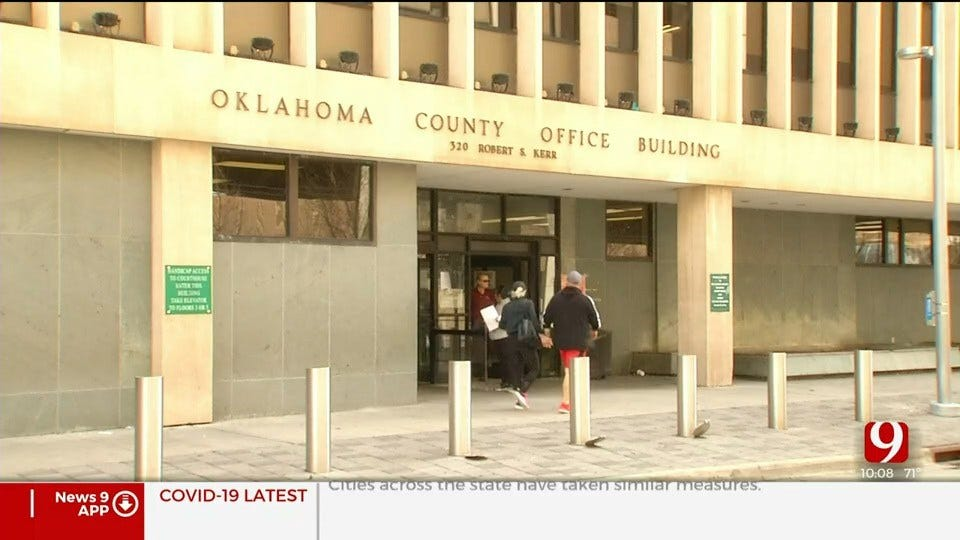 Oklahoma County Clerk, Court Clerk's Offices Continue Operations During Coronavirus Pandemic
