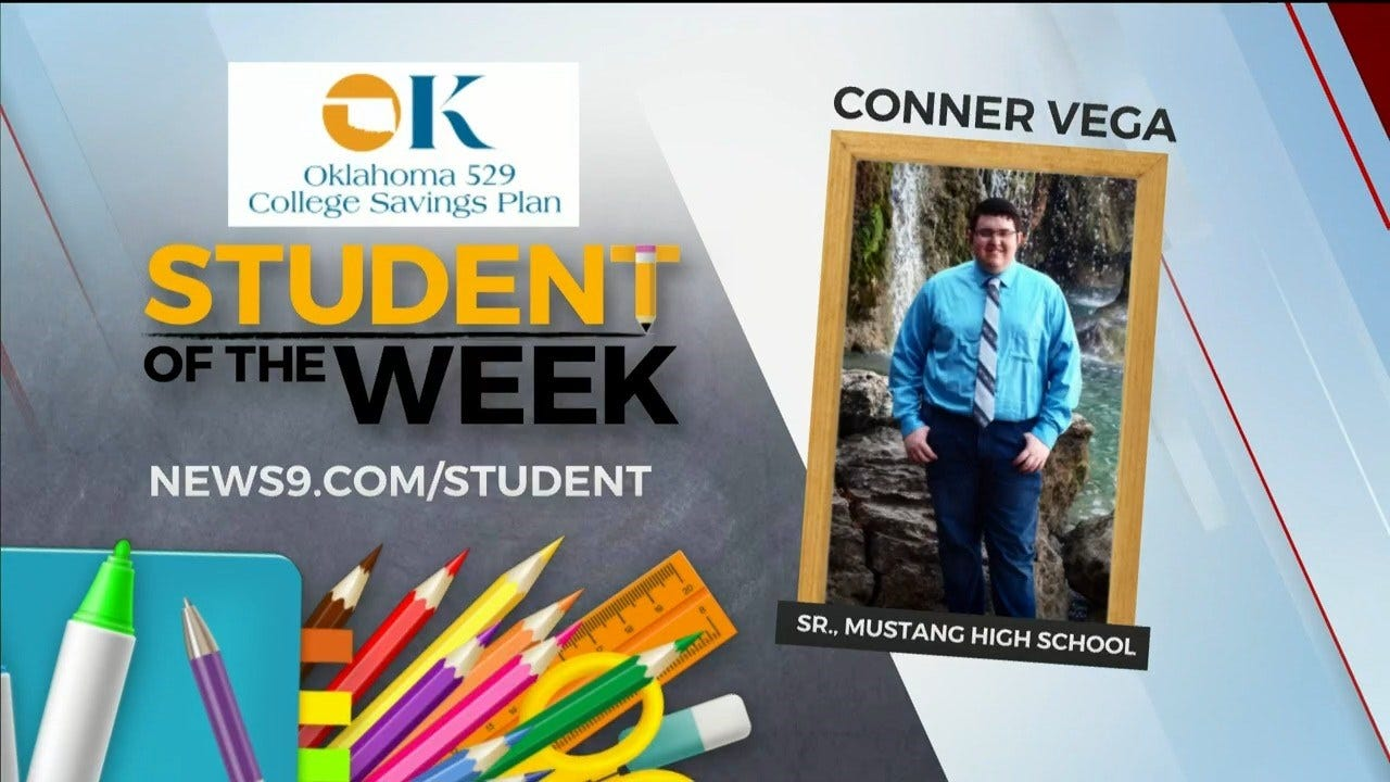 Student Of The Week: Conner Vega, Mustang HS Senior