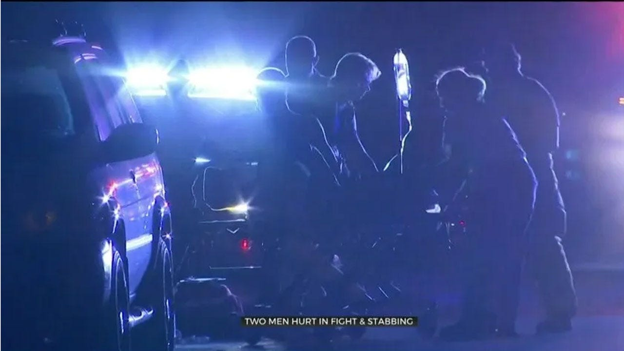 2 Taken To Hospital After Fight Leads To Stabbing In NW OKC