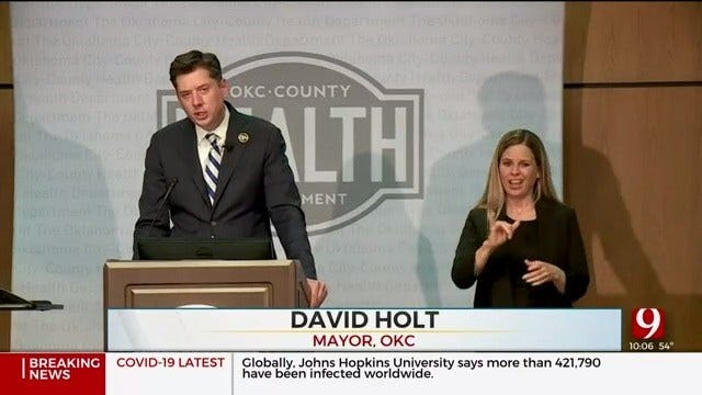 Holt Plans To Mirror Stitt's Executive Order On Closure Of Non-Essential Businesses