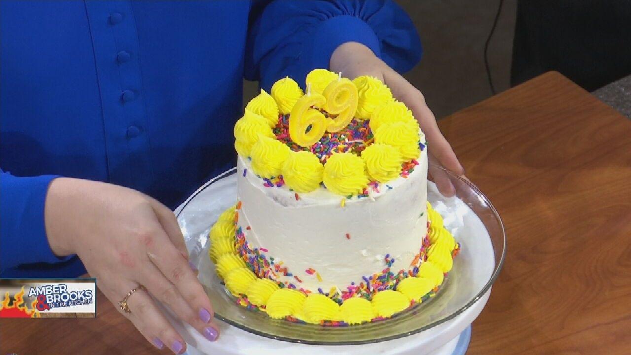 Amber & Brooks In The Kitchen: Homemade Birthday Cake