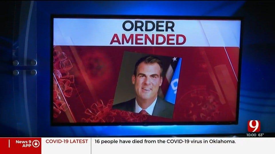 Gov. Stitt Issues Executive Order Requiring Travelers From 6 States To Self-Quarantine