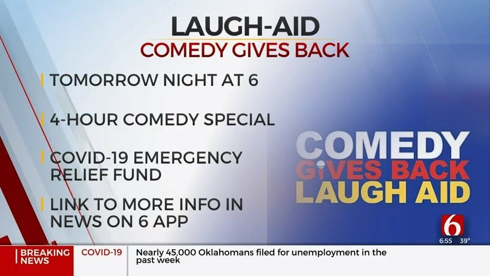 Comedians Host Show, Help People Impacted By Coronavirus (COVID-19)
