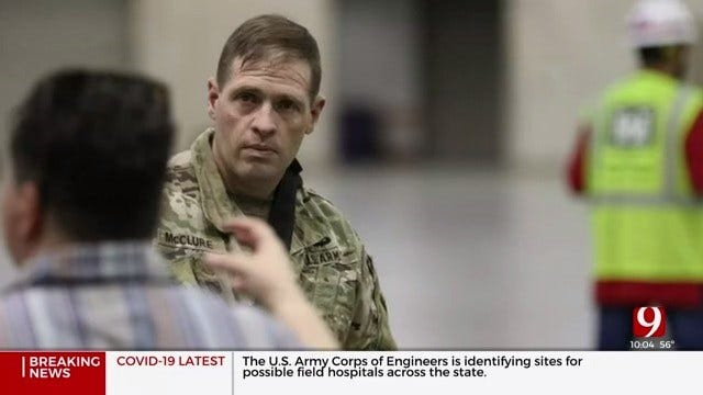 US Army Corp Of Engineers Works To Identify Alternate Care Facilities Amid Pandemic