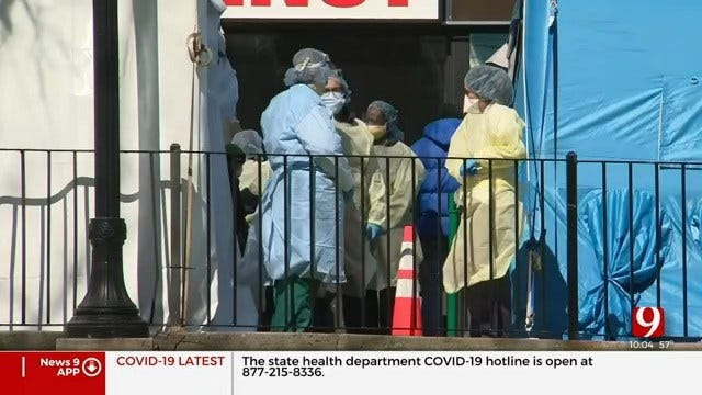 Oklahoma Medical Professionals Help In The Fight Against Coronavirus In New York City