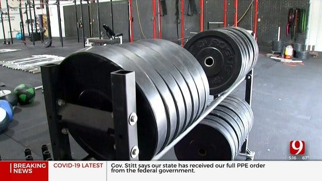 Some OKC Area Gyms Rent Out Equipment To Help Stay Afloat During Coronavirus Pandemic