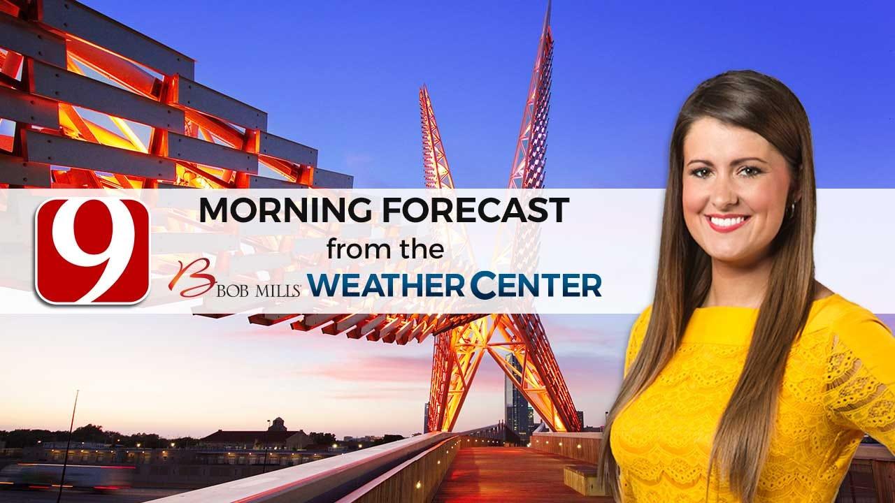 Cold Front Arrives Bringing Storm Chances Thursday